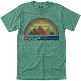 Hippy Tree Sunbelt T-shirt Homme, heather green